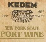 Kedem Port 750ml